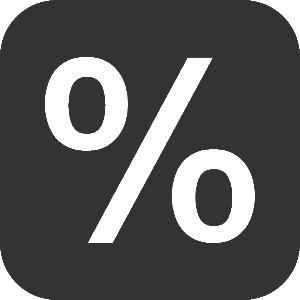 Mathematic-Percentage-icon